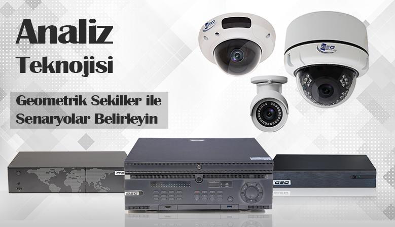 GEG Teknolojileri IP Kamera Video Analiz Teknolojisi